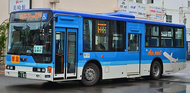 東運輸の路線バス