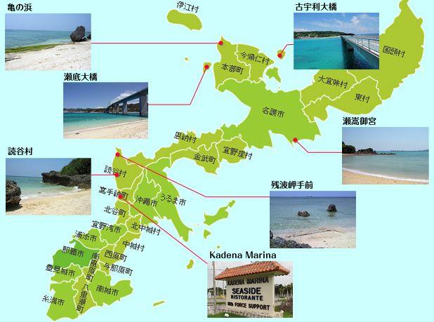 穴場の隠れビーチマップ