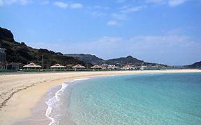 広々とした砂浜