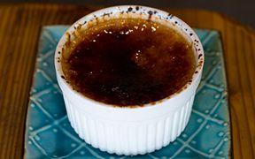 黒糖のクリームブリュレ