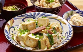 豆腐チャンプルー定食